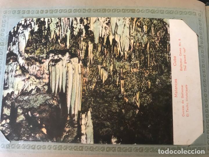 Postales: Cuba, Cueva de Bellamar en Matanzas. Libro recuerdo con 10 postales. Ver fotos - Foto 6 - 215927622