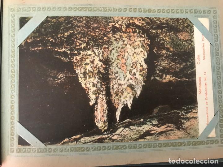 Postales: Cuba, Cueva de Bellamar en Matanzas. Libro recuerdo con 10 postales. Ver fotos - Foto 9 - 215927622