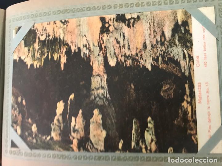 Postales: Cuba, Cueva de Bellamar en Matanzas. Libro recuerdo con 10 postales. Ver fotos - Foto 11 - 215927622