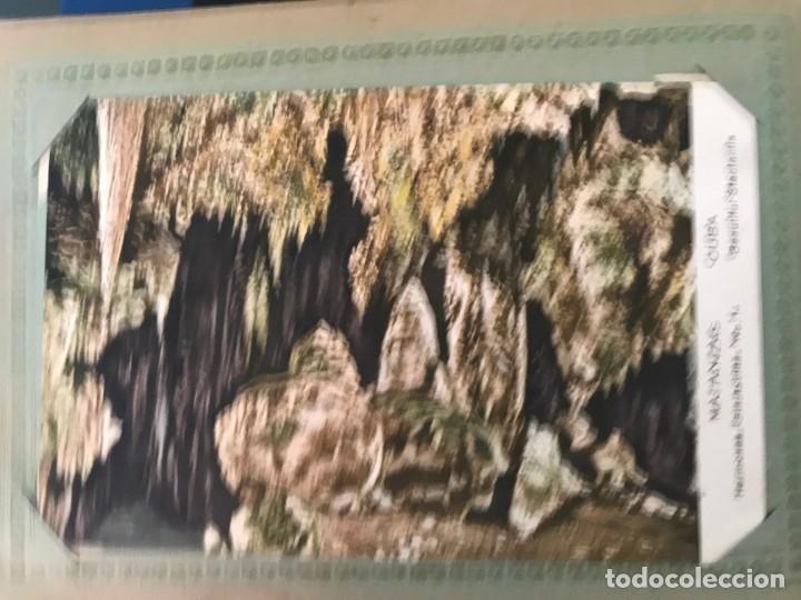 Postales: Cuba, Cueva de Bellamar en Matanzas. Libro recuerdo con 10 postales. Ver fotos - Foto 12 - 215927622