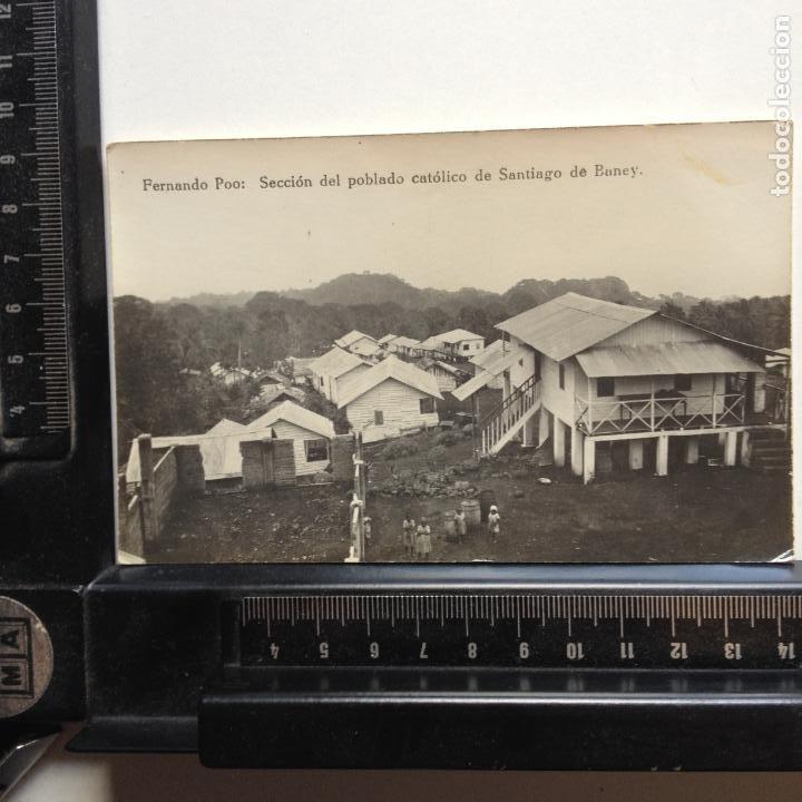 Postales: FERNANDO POO - SECCION DEL POBLADO CATOLICO DE SANTIAGO DE BANEY - - Foto 2 - 216603745