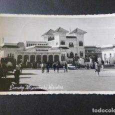 Postales: LARACHE MERCADO DE ABASTOS. Lote 216892926
