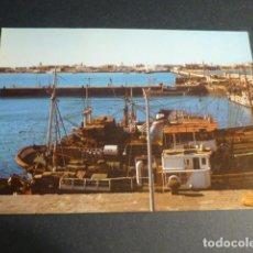 Postales: VILLA CISNEROS SAHARA ESPAÑOL VISTA PARCIAL DEL MUELLE Y POBLACION. Lote 216953697