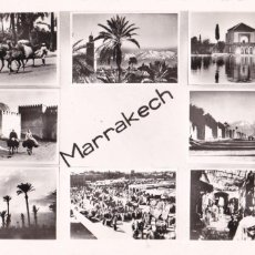 Postales: MARRUECOS MARRAKECH PAIS DES CONTRASTES. ED. FHOTO BERTRAND Nº 26. ESCRITA. Lote 218934000