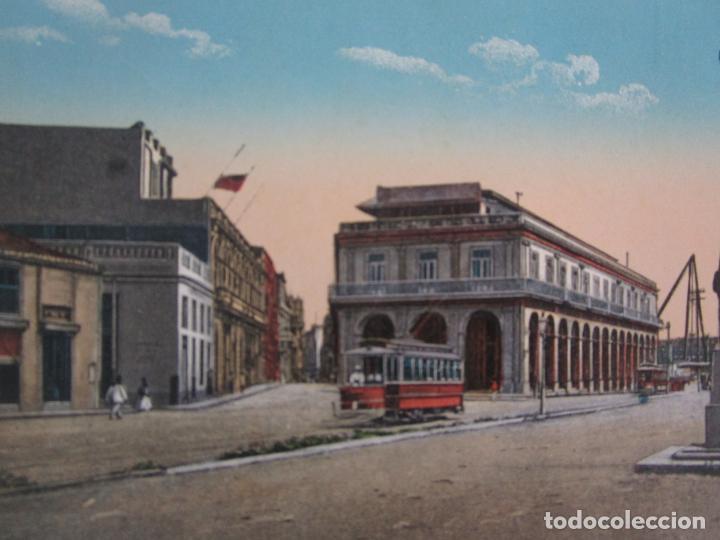 Postales: Antigua Postal - Habana, Paseo de Paula - nº 112 - República de Cuba - Foto 2 - 219354258