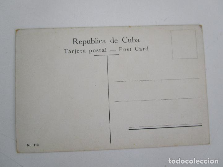 Postales: Antigua Postal - Habana, Paseo de Paula - nº 112 - República de Cuba - Foto 3 - 219354258