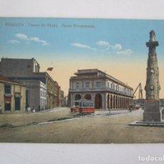 Postales: ANTIGUA POSTAL - HABANA, PASEO DE PAULA - Nº 112 - REPÚBLICA DE CUBA. Lote 219354258