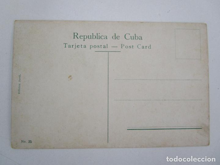 Postales: Antigua Postal - Habana, Fortaleza la Cabaña - Edición Jordi - nº 35 - República de Cuba - Foto 3 - 219354428