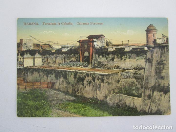 ANTIGUA POSTAL - HABANA, FORTALEZA LA CABAÑA - EDICIÓN JORDI - Nº 35 - REPÚBLICA DE CUBA (Postales - Postales Temáticas - Ex Colonias y Protectorado Español)