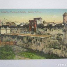 Postales: ANTIGUA POSTAL - HABANA, FORTALEZA LA CABAÑA - EDICIÓN JORDI - Nº 35 - REPÚBLICA DE CUBA. Lote 219354428
