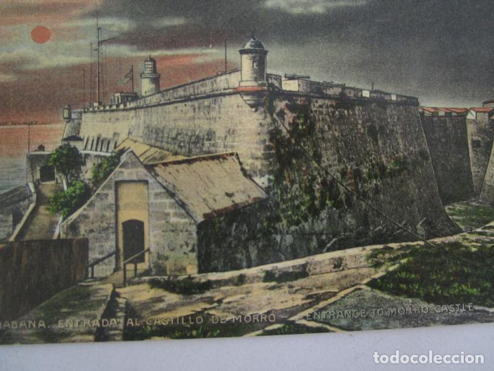 Postales: Antigua Postal - Habana, Entrada al Castillo de Morro - Edición Jordi - nº 166 - República de Cuba - Foto 2 - 219355423