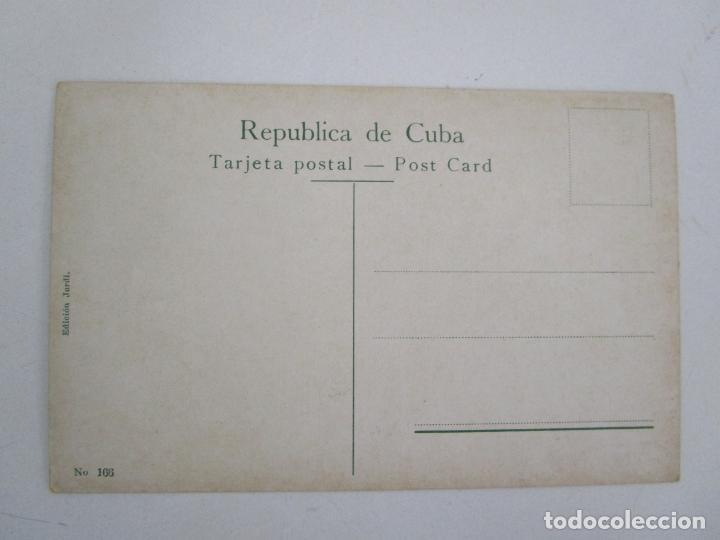 Postales: Antigua Postal - Habana, Entrada al Castillo de Morro - Edición Jordi - nº 166 - República de Cuba - Foto 3 - 219355423