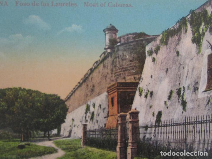 Postales: Antigua Postal - Habana, Foso de los Laureles - nº 13 - República de Cuba - Foto 2 - 219356346