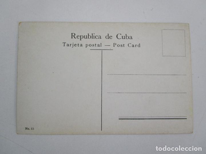 Postales: Antigua Postal - Habana, Foso de los Laureles - nº 13 - República de Cuba - Foto 3 - 219356346