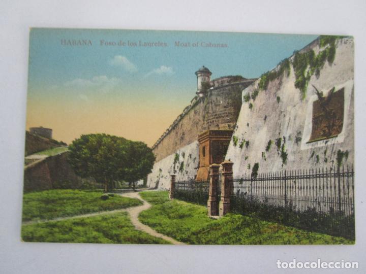 ANTIGUA POSTAL - HABANA, FOSO DE LOS LAURELES - Nº 13 - REPÚBLICA DE CUBA (Postales - Postales Temáticas - Ex Colonias y Protectorado Español)