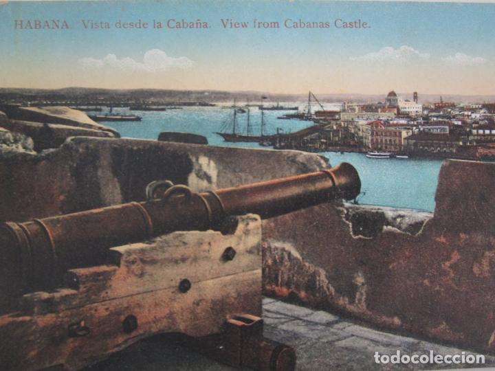 Postales: Antigua Postal - Habana, Vista desde la Cabaña - nº 37 - República de Cuba - Foto 2 - 219356440