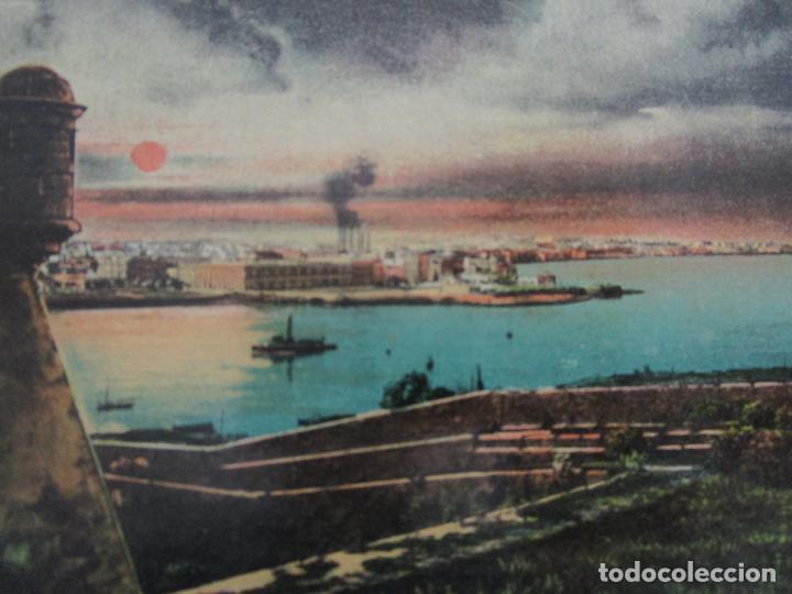 Postales: Antigua Postal - Habana, Parte del Golfo Vista desde la Cabaña - Edición Jordi - República de Cuba - Foto 2 - 219357326