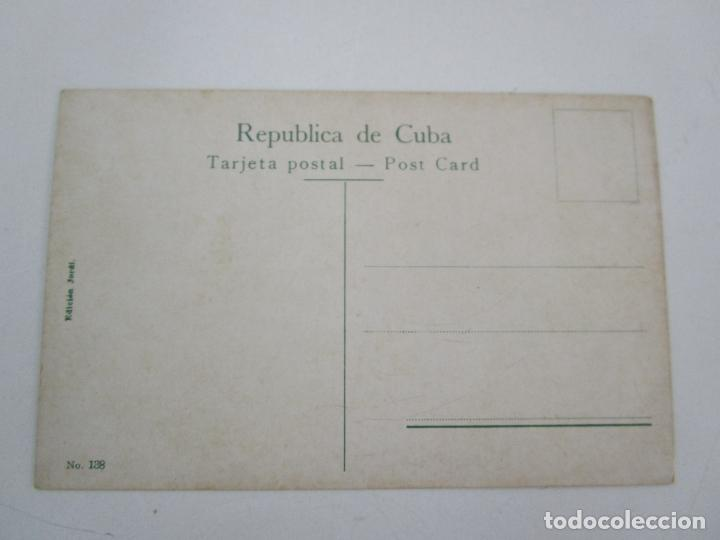 Postales: Antigua Postal - Habana, Parte del Golfo Vista desde la Cabaña - Edición Jordi - República de Cuba - Foto 3 - 219357326