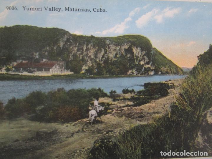 Postales: Antigua Postal - Yumuri Valley, Matanzas Cuba - República de Cuba - Foto 2 - 219357580