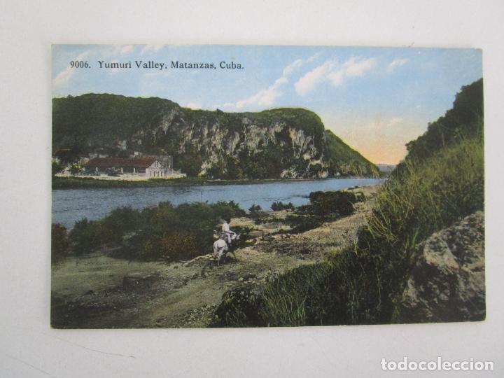 ANTIGUA POSTAL - YUMURI VALLEY, MATANZAS CUBA - REPÚBLICA DE CUBA (Postales - Postales Temáticas - Ex Colonias y Protectorado Español)