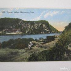 Postales: ANTIGUA POSTAL - YUMURI VALLEY, MATANZAS CUBA - REPÚBLICA DE CUBA. Lote 219357580