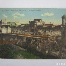 Postales: ANTIGUA POSTAL - HABANA, FORTALEZA LA CABAÑA - Nº 35 - CIRCULADA - REPÚBLICA DE CUBA 1914. Lote 219359581