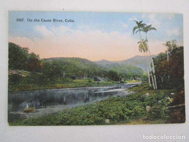 Postales: Antigua Postal - Rio, On the River, Cuba - República de Cuba - Foto 1 - 219359891