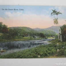 Postales: ANTIGUA POSTAL - RIO, ON THE RIVER, CUBA - REPÚBLICA DE CUBA. Lote 219359891