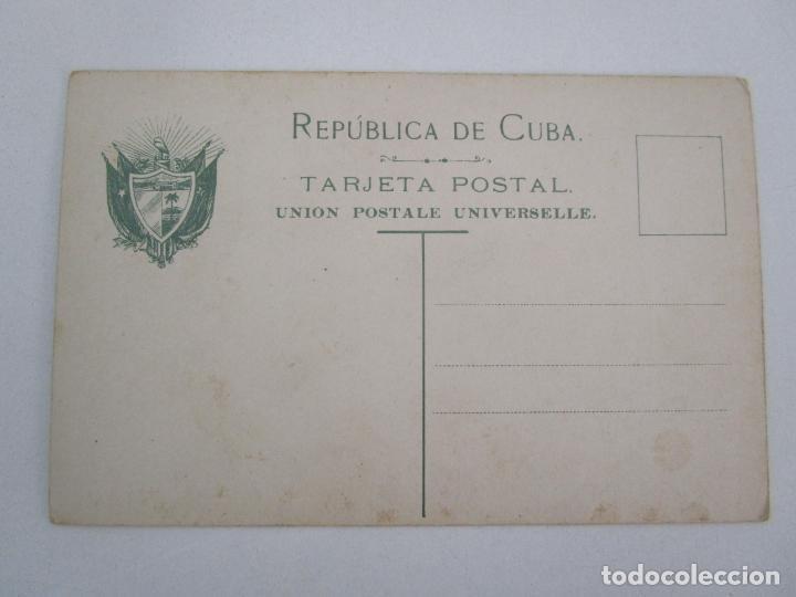 Postales: Antigua Postal - Calle de Santo Tomás, Santiago de Cuba - República de Cuba - Foto 3 - 219360343