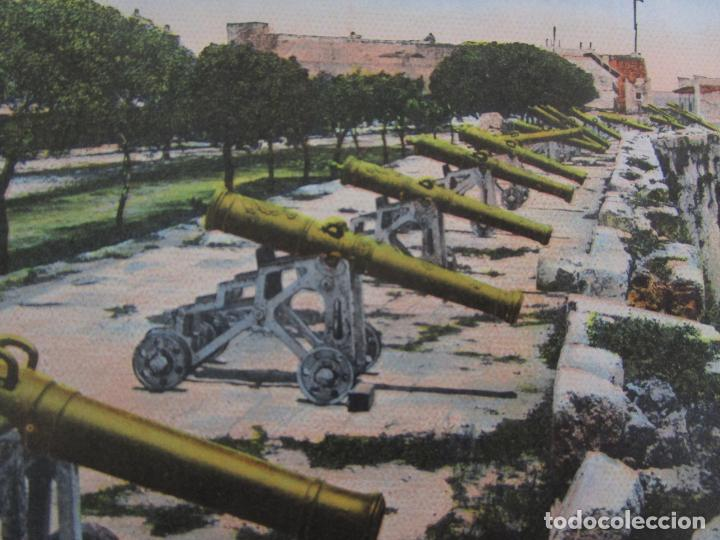 Postales: Antigua Postal - Parapeto de Cañones Fortaleza de la Cabaña, Habana - República de Cuba - Foto 2 - 219360742