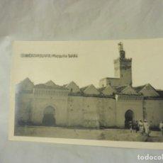 Postales: POSTAL ALKAZARKIVIR ALCAZARQUIVIR 18 MEZQUITA SAIDA MARRUECOS PAPELERÍA LA ESPAÑOLA BLANCO Y NEGRO. Lote 220891720