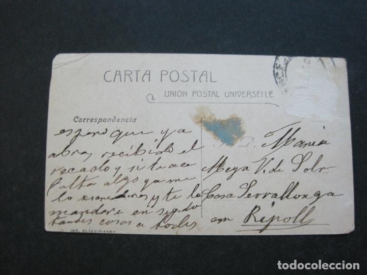 Postales: GUINEA ESPAÑOLA-TIPOS DE LA ISLA DE SAN THOME-REVERSO SIN DIVIDIR-POSTAL ANTIGUA-(74.785) - Foto 4 - 221162485