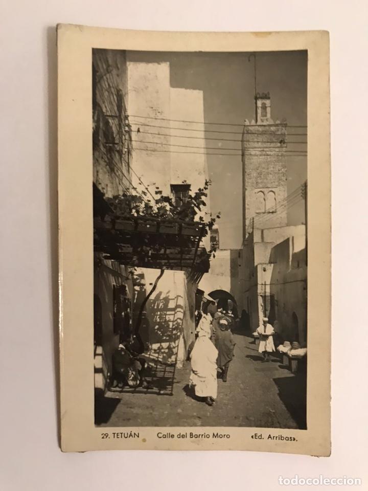 TETUAN, POSTAL NO.29, CALLE DEL BARRIO MORO, EDIC. ARRIBAS (H.1950?) S/C (Postales - Postales Temáticas - Ex Colonias y Protectorado Español)