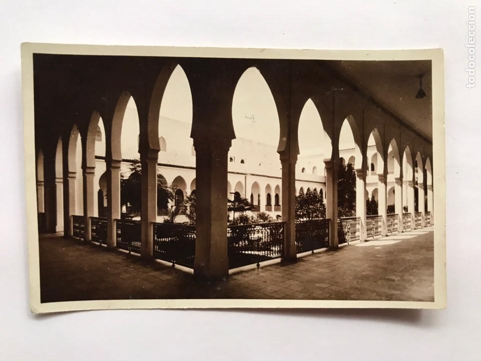 TANGER, POSTAL NO.537, PATIO INTERIOR DEL ANTIGUO PALACIO DE MULAY HAFTD, (Postales - Postales Temáticas - Ex Colonias y Protectorado Español)
