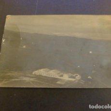 Postales: TETUAN MARRUECOS ESPAÑOL VISTA AEREA CAMPO DE AVIACION Y HANGARES POSTAL FOTOGRAFICA 1917. Lote 224426142