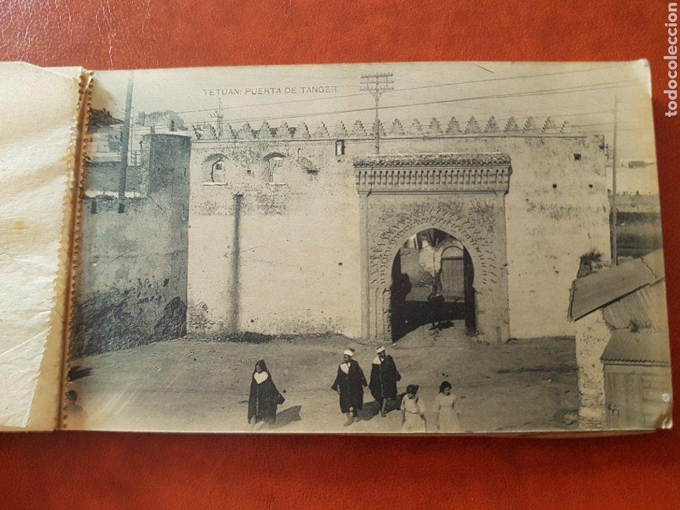 Postales: Recuerdo de Tetuán block de 15 postales por hauser y menet - Foto 6 - 224602501