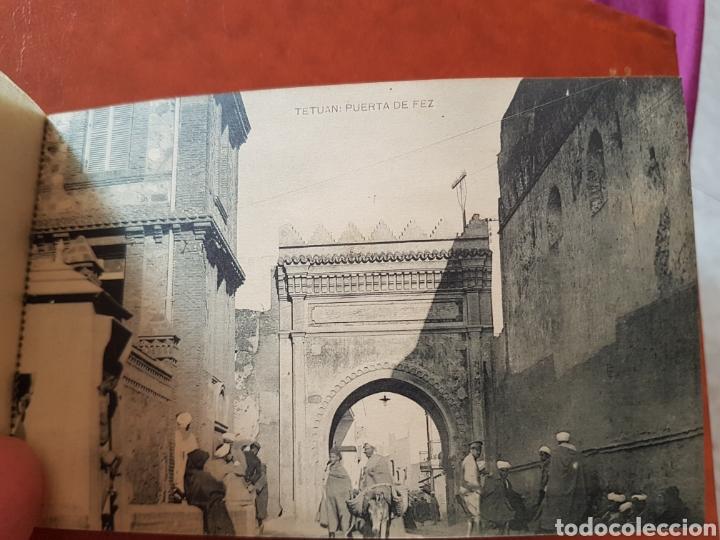 Postales: Recuerdo de Tetuán block de 15 postales por hauser y menet - Foto 17 - 224602501