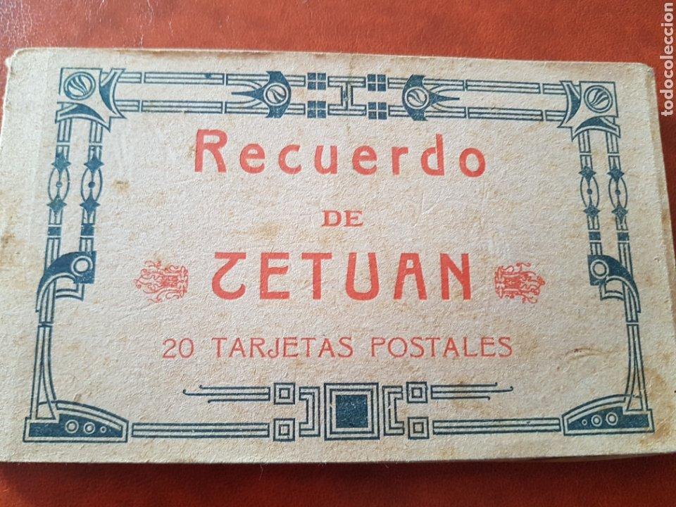 RECUERDO DE TETUÁN BLOCK DE 15 POSTALES POR HAUSER Y MENET (Postales - Postales Temáticas - Ex Colonias y Protectorado Español)