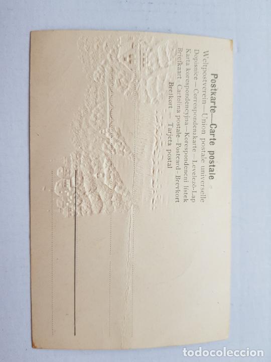 Postales: LA HABANA 1904-1905 SIN DIVIDIR RELIEVES FELICITACION NAVIDAD - Foto 3 - 234399510
