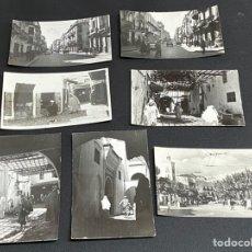 Postales: TETUAN. LOTE DE 7 POSTALES. CIRCULADAS. VER FOTOS.. Lote 234730410