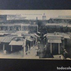 Postales: TETUAN MARRUECOS EL MERCADO DEL BARRIO MORO. Lote 236074160