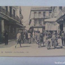 Postales: POSTAL DE TANGER DE PRINCIPIOS DE SIGLO , EN FRANCES: EL PEQUEÑO ZOCO. Lote 241725635