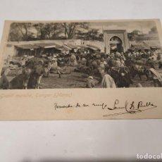 Postales: MARRUECOS - POSTAL TÁNGER - GRAND MARCHÉ. Lote 241862200