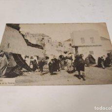 Postales: MARRUECOS - POSTAL TÁNGER - PUERTA DE LA TENERÍA. Lote 241921510
