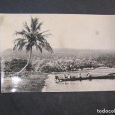 Postales: GUINEA ESPAÑOLA-PLAYA DE GUINEA CONTINENTAL-FOTO CALIFORNIA BATA-203-POSTAL ANTIGUA-(77.595). Lote 242354020