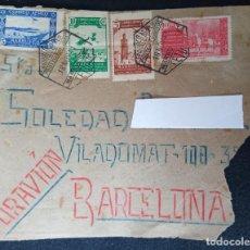 Postales: 1941 ESPAÑA. MARRUECOS PROTECTORADO ESPANYOL. CORREO AÉREO. SOBRE FRANQUEADO AVION.. Lote 243402180