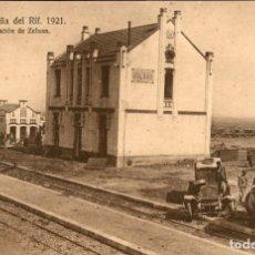 Postales: ORIGINAL - CAMPAÑA DEL RIF 1921 - ESTACIÓN DE ZELUAN - EDICIÓN M.V. POSTAL EXPRESS MELILLA. Lote 243446335