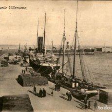 Postales: ORIGINAL - CAMPAÑA DEL RIF 1921 - MELILLA - MUELLE VILLANUEVA - M.V. POSTAL EXPRES. Lote 243448720