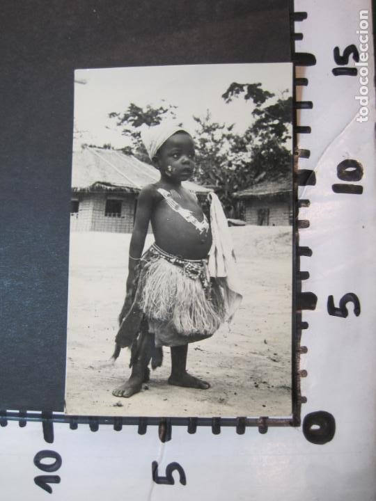 Postales: GUINEA ESPAÑOLA-NIÑO INDIGENA-FOTO CALIFORNIA BATA-180-POSTAL ANTIGUA-(77.623) - Foto 4 - 243614520