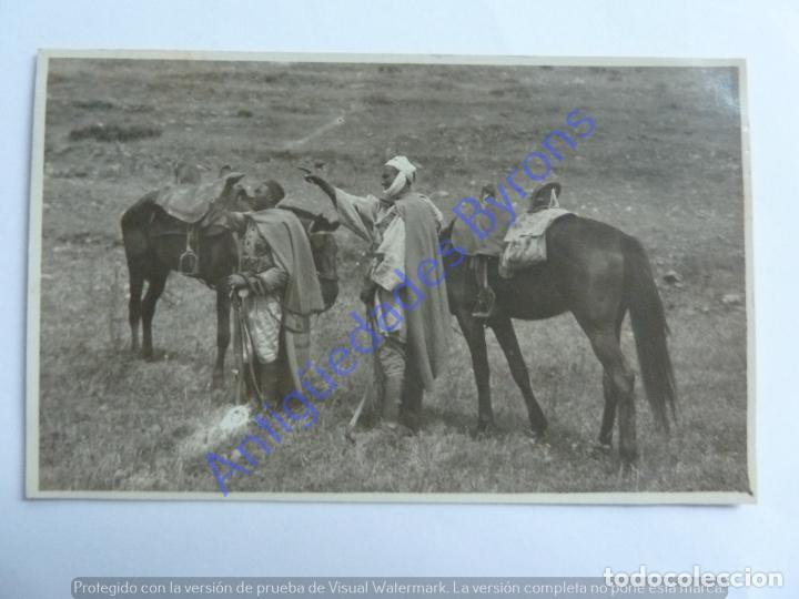 MARRUECOS. CENTINELAS INDÍGENAS. GUERRA DE ÁFRICA (Postales - Postales Temáticas - Ex Colonias y Protectorado Español)
